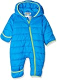 Playshoes Baby-Unisex Stepp-Overall Uni Schneeanzug, Blau, 80