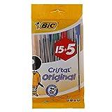 BIC Cristal Kugelschreiber, Medium, farblich sortiert, 20 Stück