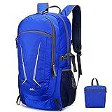 40L Ultra leichter Sport Faltbarer Wanderrucksack Tagesrucksack Wasserdicht Reise Tagesrucksack für Männer Frauen