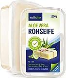 Glycerinseife transparent mit Aloe Vera zum Selber machen - 1kg für Kinder & Erwachsene