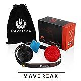 MAVEREAK Boxing Reflex Ball Set– Punchingball und Reaktionsball für Ihr Boxtraining – hochwertiger Boxball mit Stirnband zum Boxen Inkl. Trainingsanleitung