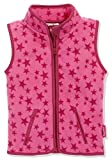 Playshoes Kinder Fleeceweste Allover Sterne Weste, Pink, 98