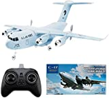 RC Flugzeug C-17 Transport EPP DIY Flugzeuge 2 Kanäle 2,4 GHz Fernbedienung 3-Achsen Gyro Flugzeug Spielzeug RTF