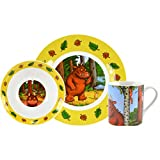 Grüffelo Frühstücksset, Porzellan, 3tlg, in Geschenkbox, 0126564, Bunt, 3 Teilig
