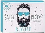 XXL Adventskalender MR RIGHT für Kerle - Hipster Körperpflege Weihnachtskalender Männer