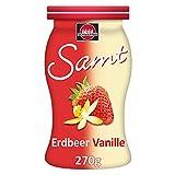 Schwartau Samt Erdbeer-Vanille, Fruchtaufstrich, ohne Stücke - ohne Kerne, 8er Pack (8 x 270 g)