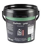 PFIFF Huffett mit Lorbeeröl, Pferde Hufpflege, hochwertige Öle, grün, 500 ml