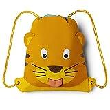 Affenzahn Turnbeutel für Mädchen und Jungen 1-5 Jahre - Tiger - Gelb
