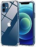 Babacom für iPhone 12/ iPhone 12 Pro Hülle, Durchsichtige Dünne Handyhülle mit Stoßfest Bumper [Anti-Gelb], Harte PC-Rückseite, Weiche TPU-Rahmen für iPhone 12/ iPhone 12 Pro 6,1-Zoll (2020)