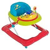 Hauck Lauflernhilfe Player - Walker ab 6 Monaten, Gehfrei mit Spielcenter und Rollen, höhenverstellbar, bunt (Jungle Fun)