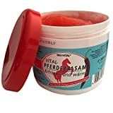 500ml Pferdebalsam mit Chiliextrakt, Wärmesalbe, Massagesalbe, Pferdesalbe extra stark - hilft bei Verspannungen und Muskelkater