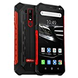 Ulefone Armor 6E (2019) Outdoor Handy Qi fähig 6,2 Zoll FHD+ Display, Helio P70 Android 9.0 Smartphone IP68 Wasserdicht, 4GB RAM+64GB Speicher,16MP+2MP+8MP Kamera, 5000mAkku 4G Globale Version, Rot