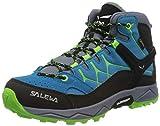 Salewa JR Alp Trainer Mid Gore-TEX Trekking- & Wanderstiefel, Danube/Fluo Green, 36 EU