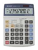 Sharp EL-2125C Tischrechner, Solar-/ Batteriebetrieb
