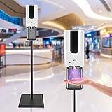 S SMAUTOP Desinfektionssäule mit Sensor Automatischer Desinfektionsspender Sensor 1200ml Desinfektionsmittelspender stehend Höhenverstellbar Desinfektionsständer Touchless für Läden,Hotels etc