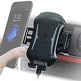 Handyhalterung Auto mit Ladefunktion für die Lüftung, KFZ Handy Halterung | induktives Laden am Lüftungsgitter | universal Handyhalter für alle Smartphone -iPhone Samsung Huawei Nokia und LG