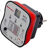 Multimerix Arnoux mmxp06230304-Prüfgerät für Steckdose, Erdung, 2-polig mit Schutzschalter
