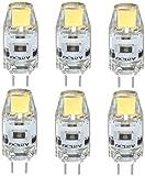 PRIDE S 12V 1W Brennwertkessel G4LED Lampen-Korn Pin Unterstützt Dimmbare Crystal Light Bulb (Color : Cool White-DC12V, Size : G4)