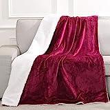 Heizdecke 130x180cm, Elektrische Wärmedecke fürs Bett mit Abschaltautomatik (3H) Überhitzungsschutz mit 6 Temperaturstufen, Heimgebrauch Sofa Büronutzung benutzen, Flanell Waschbar