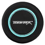 Mavrix Unisex-Jugend Disc Silikon Frisbee Fliegenscheibe für Kinder Erwachsene, langlebig und biegbar, Schwarz/Grün, Einheitsgröße