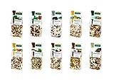 Dr. Ana Collection - Risotto Probierpaket mit Steinpilzen, Spitzmorchel, Gemüse und Pfifferlingen (10x 200g)