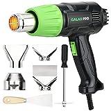 Heißluftpistole 2000W, GALAX PRO Heißluftgebläse Heißluftfön mit 2 Temperatureinstellungen-Module, 4 Düsen, Einstellbare Temperatur,zum Löten, Schrumpfen, Stripping Paint