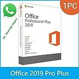MS Office 2019 Professional Plus LIZENZ KEY - vorab E-Mail Versand (24 Std.) & Postbrief - 32 & 64 Bit - 1 Aktivierung / 1 PC + Anleitung von U-S-B Unleashed-Shop-Bolt