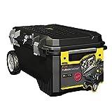 Stanley FatMax Mobile Montagebox ZollStructural Foam Zoll (113 Liter Ladevolumen, Schwerlasträder, Metallschließen) 1-94-850