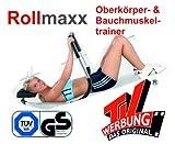 SchwabMarken B-Ware!! - Rollmaxx Bauchtrainer - Achtung Vor dem Kauf unbedingt die Bilder und Beschreibung beachten!! Bauchmuskeltrainer Crunch Fitness Muskeltrainer Roll Maxx Marke Crane (Aldi)