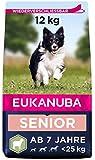 Eukanuba Hundefutter mit Lamm & Reis für kleine und mittelgroße Rassen - Trockenfutter für Senior Hunde, 12 kg