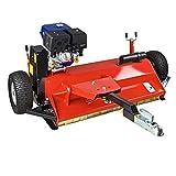 ATV Schlegelmulcher Mähwerk Mulcher BSM120RS 120 cm mit Benzinmotor 8,5 kW