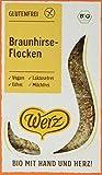 Werz Braunhirse-Flocken, glutenfrei, 3er pack (3 x 250g)