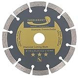 PRODIAMANT Diamant-Trennscheibe 150 x 22,2 mm - Beton, Stein, Ziegel, universal 150mm