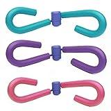 AM Multifunktionaler Oberschenkel-Trainingsgerät, für Fitness, Muskeln, Po, Toner, Die Dünnen Beine/Dünne Brustvergrößerung Bein - Schöne, Fitnessgeräte Hüfte (Beintrainer pink)