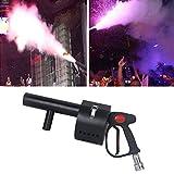 SJTL Handheld CO2 Nebelmaschine Konfetti Kanonen Maschinen Wiederaufladbar für Halloween Hochzeit Party Club Nebelmaschine für Feiertage Hochzeiten Theater DJ Weihnachtsstadien Effekt
