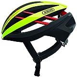 ABUS Unisex-Erwachsene AVENTOR Fahrradhelm, neon Yellow, L