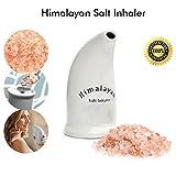 Himalaya-Salzinhalator Salzrohr Keramikgefüllter Inhalator mit freiem Salz 100% rein Die Salztherapie-Inhalatoren für Allergien und Asthma CE-zertifiziert