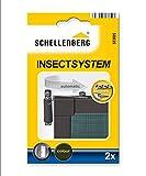 Schellenberg 50035 Türschließer für Insektenschutz-Türen (2 Stück) zum Schrauben