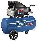 Scheppach Kompressor HC54 (1500 Watt, 50 L, 8 bar, Ansaugleistung 220L/min, ölgeschmiert)