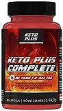 Keto Plus DAY Complete Fettstoffwechsel Kapseln, für Stoffwechsel von Männer und Frauen, 60 Kapseln