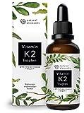 Vitamin K2 MK-7 200µg - 1700 Tropfen (50ml) - Höchster All-Trans Gehalt 99,7+% (K2VITAL® von Kappa) - Laborgeprüft, vegan, hochdosiert, hergestellt in Deutschland