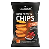 Layenberger High Protein Chips Hot & Sweet Chili, (1 x 75 g)
