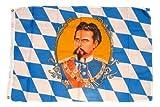 Fahne / Flagge Bayern König Ludwig NEU 90 x 150 cm