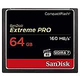 SanDisk Extreme Pro CompactFlash 64GB Speicherkarte (bis zu 160MB/s lesen)