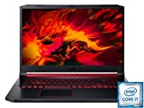 Acer Nitro 5 (AN517-51-76CG) 43,9 cm (17,3 Zoll Full-HD IPS 120 Hz matt) Gaming Laptop (Intel Core i7-9750H, 16 GB RAM, 1 TB PCIe SSD + 1 TB HDD, NVIDIA GeForce GTX 1650, Win 10 Home) schwarz/rot