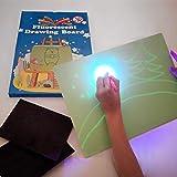iLight – Magische Tafel Zaubertafel – Zeichnen & Malen mit Licht für Kinder [Größe A4] – Mal-Spiel für Jungen & Mädchen von 3 bis 12 Jahre – Kreatives, Originelles & Lehrreiches Geschenk für Kinder