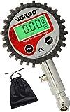 Vergo Digital Reifendruckmesser – 0-200 PSI / 0-14 BAR-Reifendruckprüfer-Präzision Reifendruck Messgerät für Geländewagen, Transporter, Sprinter, LKW, Fahrräder (mit Autoventilen), Motorräder Autos