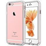 JETech Hülle für iPhone 6s / 6, Schutzhülle Anti-kratzt Transparente Rückseite, HD Klar