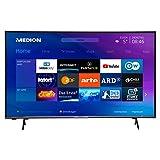 MEDION X15580 138,8 cm (55 Zoll) UHD Fernseher (Smart-TV, 4K Ultra HD, HDR 10, Micro Dimming, Netflix, Prime Video, WLAN, PVR, Bluetooth)