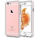 JETech Hülle Kompatibel iPhone 6s Plus / 6 Plus, Handyhülle Case Cover Schutzhülle mit Anti-kratzt Transparente und Rückseite, HD Klar